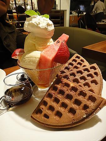 ✿米朗琪咖啡館之鬆餅好好吃✿