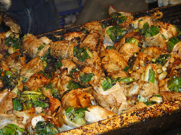 ✿士林夜市美食✿起士馬鈴薯&炭烤肉捲✿