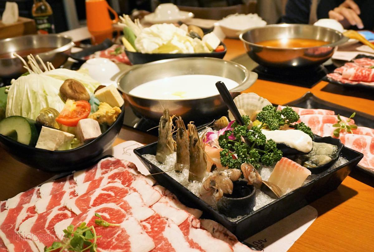 天棧鍋物 份量和美味同時爆表的超優質涮涮鍋∣天母