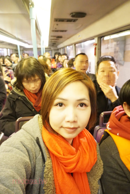 香港交通 太平山看夜景 下山搭巴士快速又方便