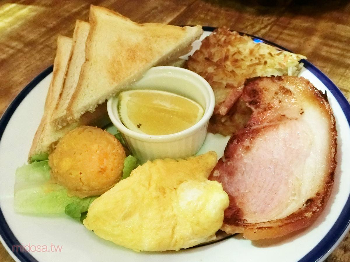 新店早午餐 只是一隻熊@捷運新店區公所站