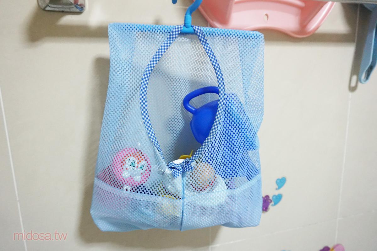 大創39元好物分享 洗澡玩具收納吊袋