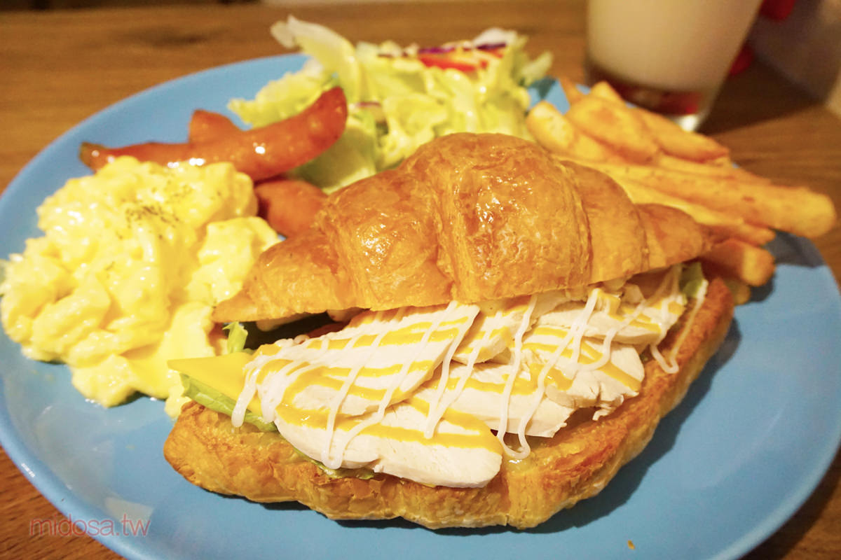 新店大坪林早午餐推薦 zoo cafe 鹿咖啡 動物園特色早午餐