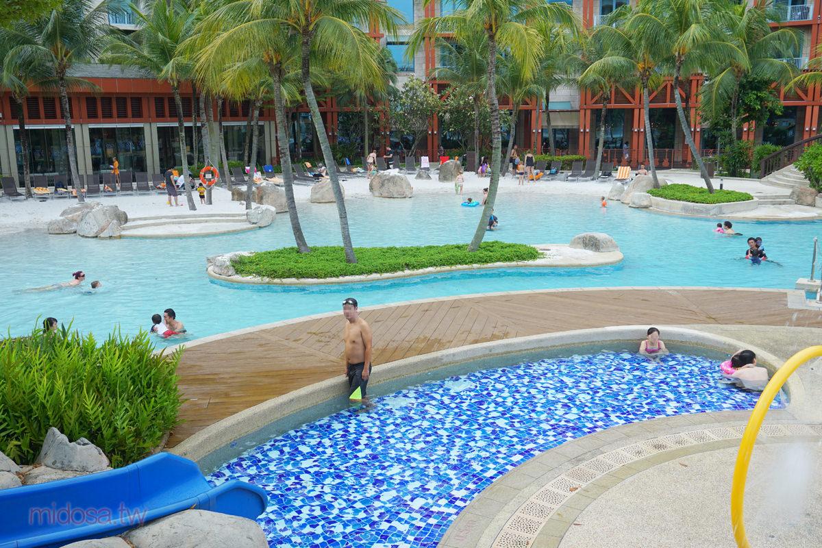 硬石酒店沙灘泳池 帶小孩來玩沙吧 Hard Rock Hotel 新加坡親子遊