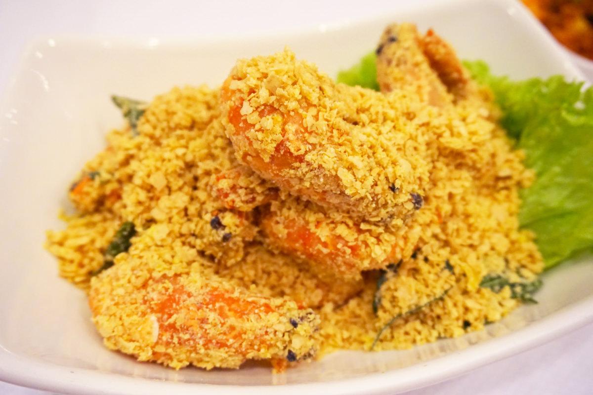 新加坡海鲜共和國 Singapore Seafood Republic 麥片蝦