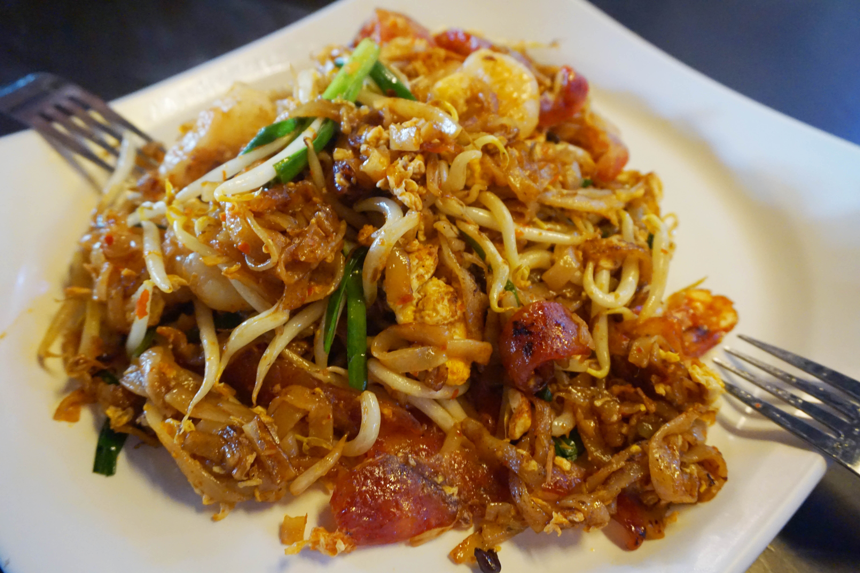 檳城林兄弟炒粿條 新加坡聖淘沙名勝世界美食街 推薦美食