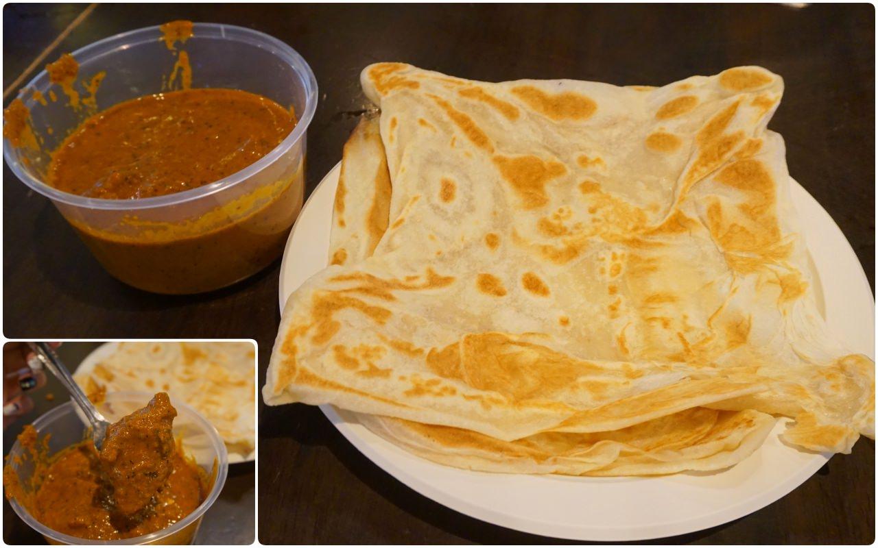 印度煎餅黃薑飯 新加坡名勝世界馬來西亞美食街 美食推薦