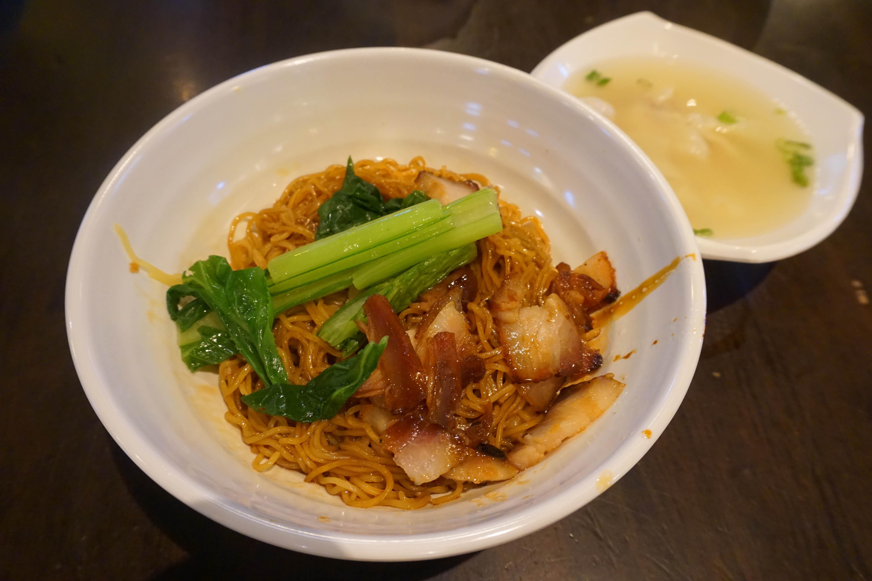 吉隆坡雲吞麵 新加坡名勝世界馬來西亞美食街 美食推薦