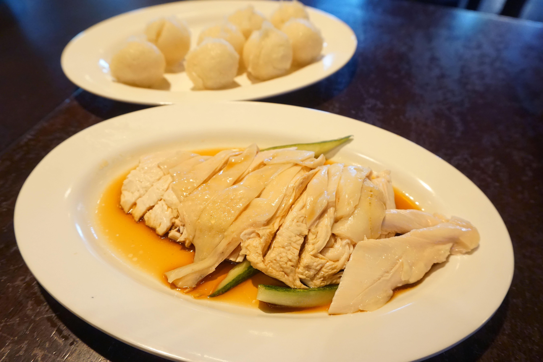 馬六甲雞飯粒 新加坡名勝世界馬來西亞美食街