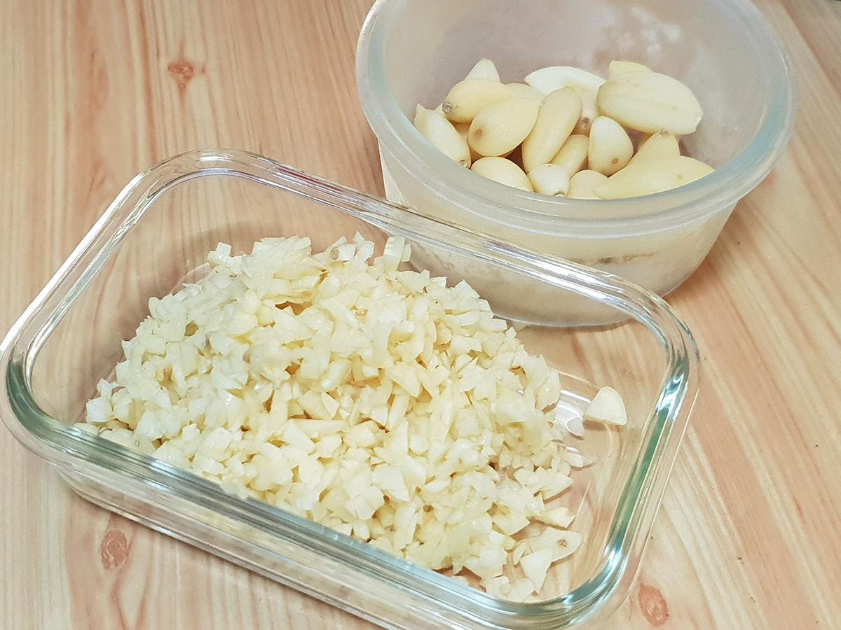 蒜頭處理保存 快速料理事前準備