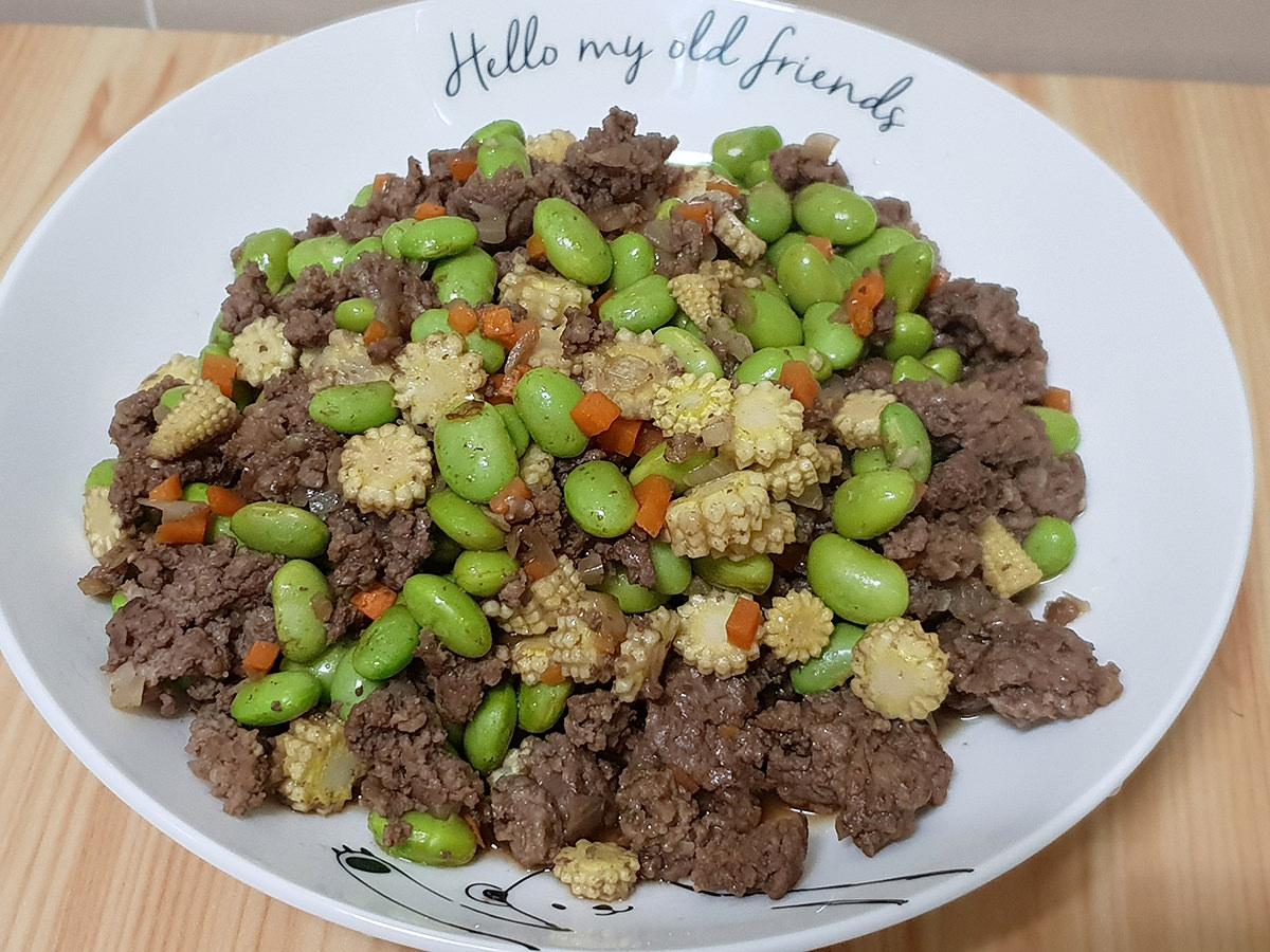 【炒牛絞肉】拌飯拌麵都好吃的健康肉燥 加了蔬菜更營養 小孩也愛吃