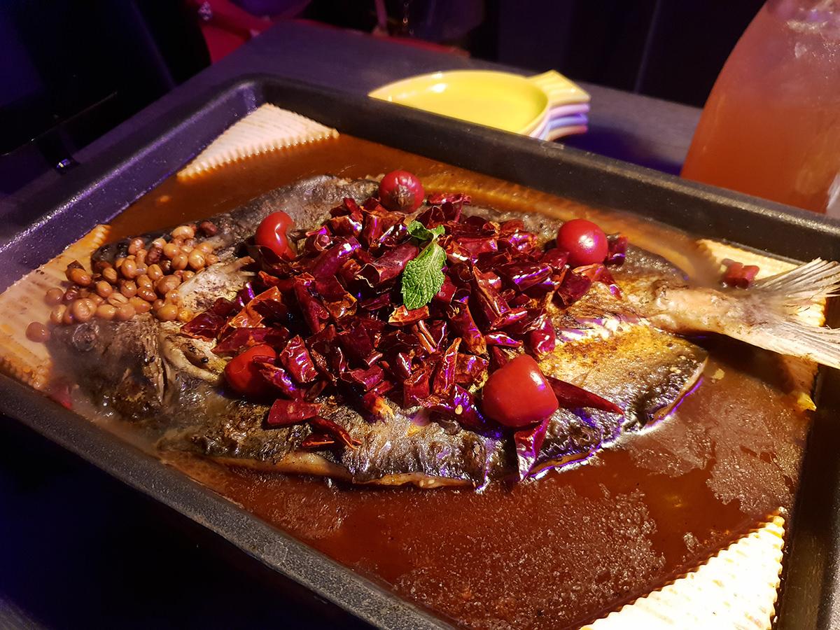 新店水貨烤魚火鍋 新店區最特別的火鍋